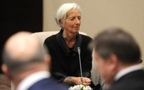 Managing Director of the International Monetary Fund Christine Lagarde.