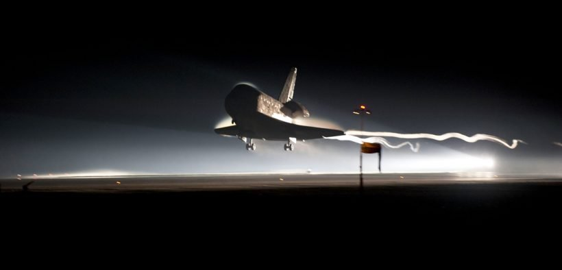 Space shuttle Atlantis brings a close to NASA's Space Shuttle Program with the STS-135 mission, landing on Runway 15 at NASA Kennedy Space Center's Shuttle Landing Facility. A new 21st century space race has begun.