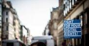 Netzpolitik Manifestation pour la liberté de la presse à Berlin