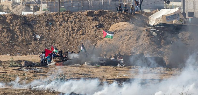 2018 Gaza border protests, Bureij