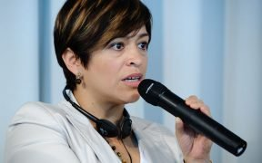 La periodista mexicana Anabel Herandez gana el Premio Libertad de Expresión de DW. (Foto: Heinrich-Böll-Stiftung)