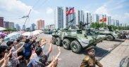 North Korea military parade July 2013