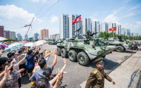 Desfile militar da Coreia do Norte julho 2013