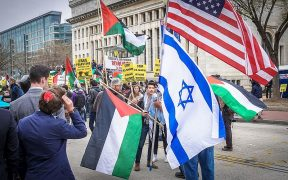 Free Palestine protest, Washington D.C. March 26, 2017. (Photo: Ted Eytan)
