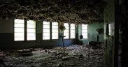Derelict building full of asbestos. (Photo: Will Fisher)