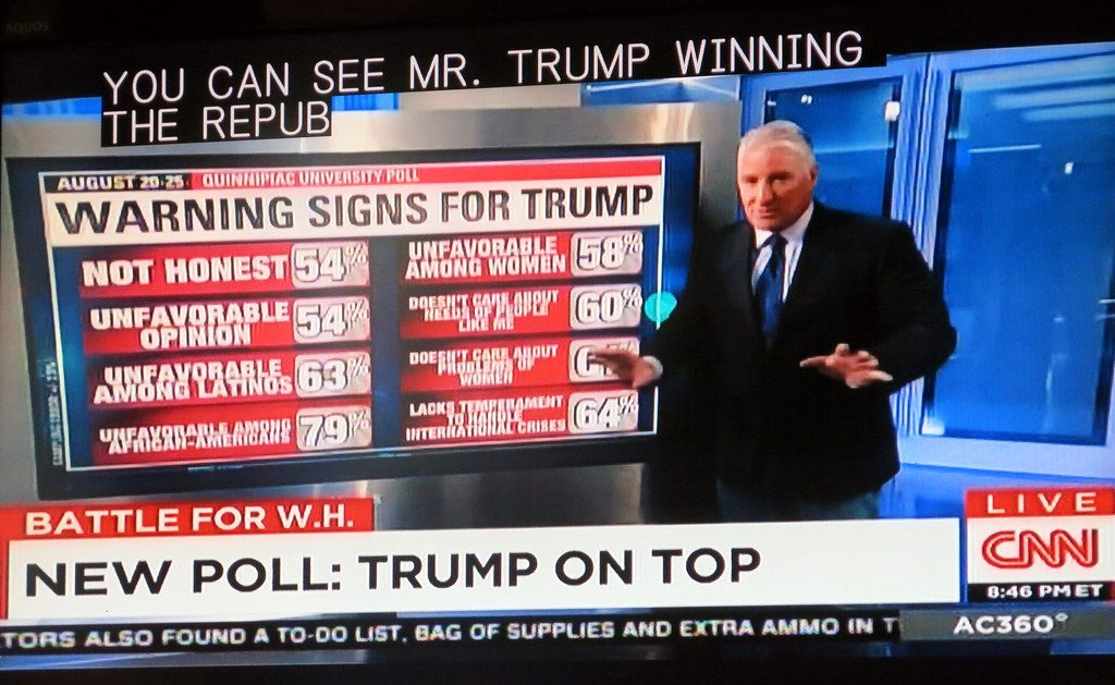 (Original warning signs for trump -- REPOSTING AGAIN from AUGUST 27th 2015. Photo: Torbak Hopper)