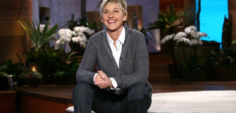 Ellen Degeneres during a 2008 taping of her show. (Photo: RonPaulRevolt2008)