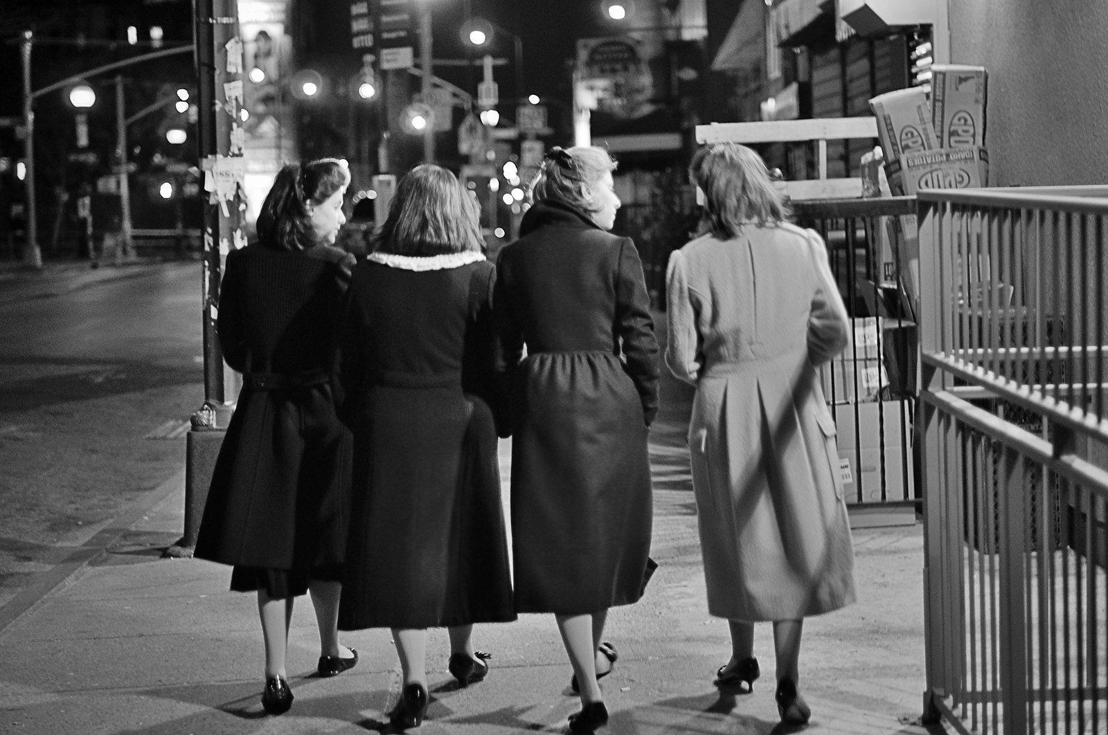 Chicas judías jasídicas, Williamsburg, Brooklyn