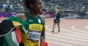 Caster Semenya wins 800m silver medal at 2012 London Olympics. (Photo: Jon Connell)