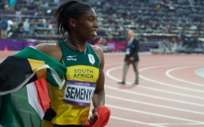 Caster Semenya wins 800m silver medal at 2012 London Olympics. (Photo: Jon Connell)