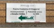 El Chaparral从墨西哥蒂华纳进入美国。 (照片:Lauren von Bernuth)