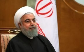 President of Iran Hassan Rouhani.
