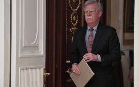 Assistant to the US President for National Security Affairs John Bolton.