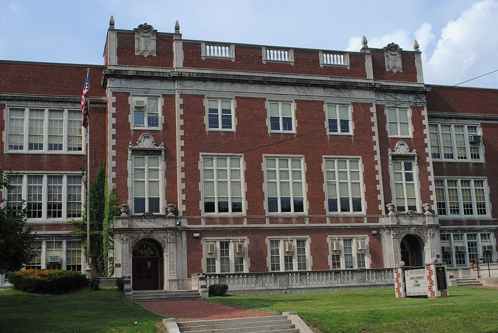 North High School in Columbus, Ohio is listed on the National Register of Historic Places. (Photo: Wdzinc)