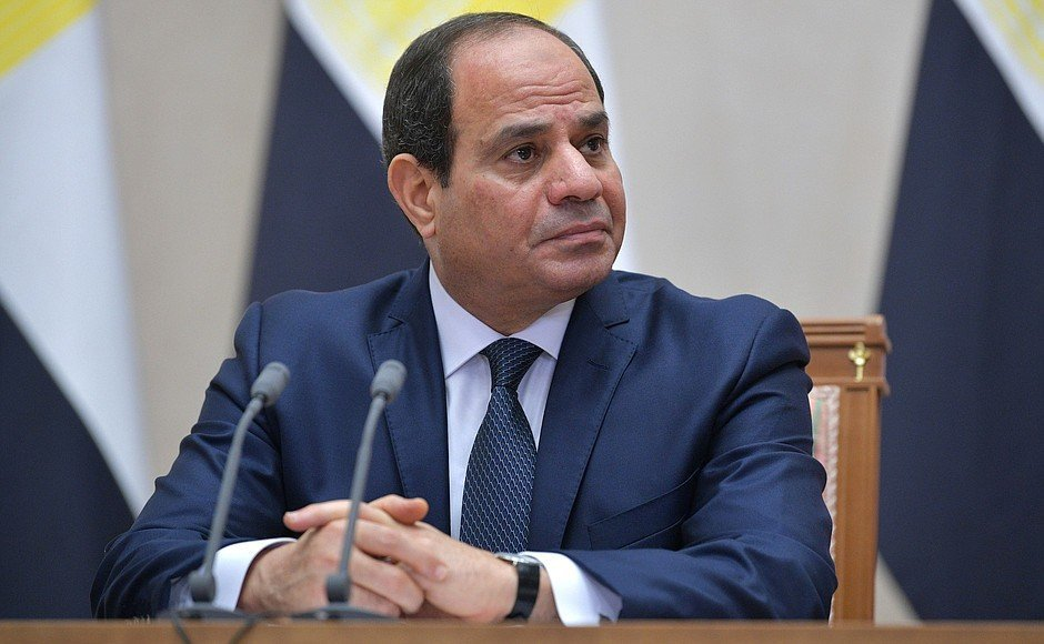 President of Egypt Abdel Fattah el-Sisi during a visit to Russia. (Photo: Kremlin.ru)