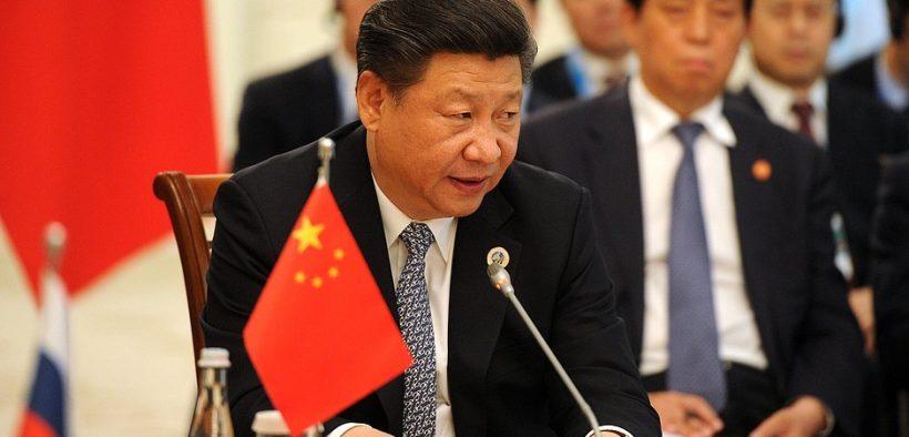 Präsident der Volksrepublik China Xi Jinping bei einem Treffen mit dem russischen Präsidenten Vladamir Putin. (Foto: Kremlin.ru)