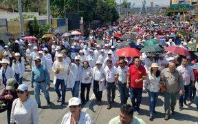 Honduras protest. (Foto: Peoples Dispatch)