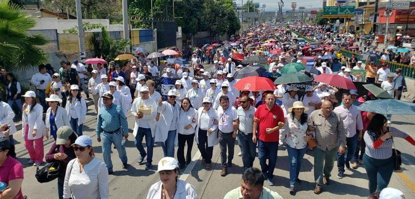 Honduras protest. (Photo: Peoples Dispatch)