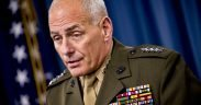 U.S. Southern Command, Commander Gen. John F. Kelly briefs the media on the current state of USSOUTHCOM affairs, March 20, 2013. (DoD photo by Mass Communication Specialist 1st Class Chad J. McNeeley/Released)
