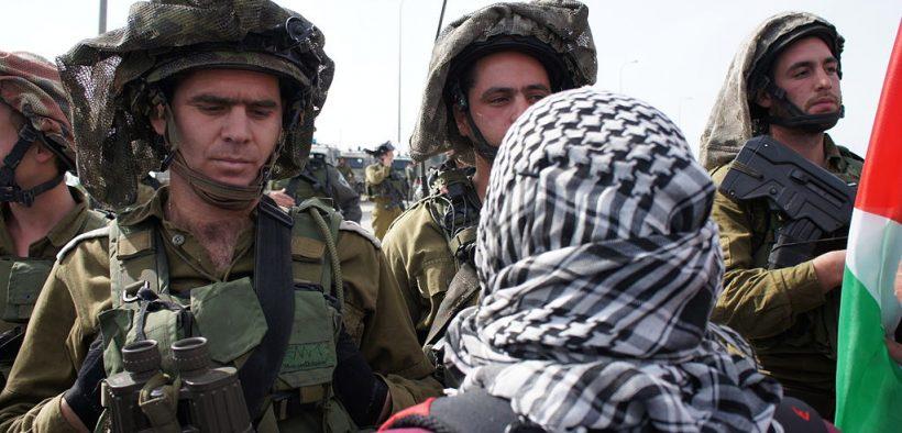 Palestinian protest, February 2012. (Photo: KafrAdDeek)