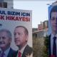 Affiches pour Binali Yıldırım et Ekrem İmamoğlu
