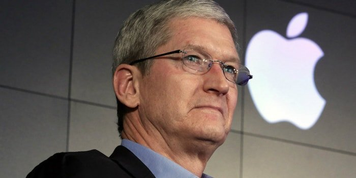 Apple CEO Tim Cook. February, 2016