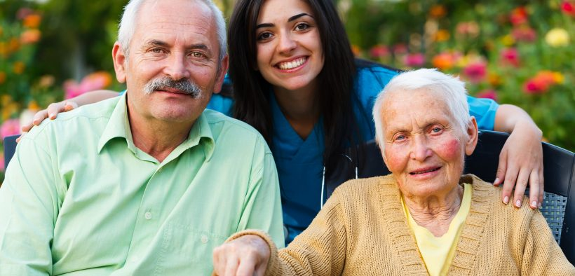 Senior citizens in a group home in Georgia. (Photo: public domain)