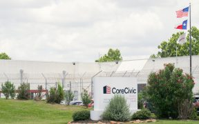 private prisons: CoreCivic Houston Processing Center