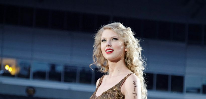 Taylor Swift Speak Now Concerto no Heinz Field. Junho 2011. (Foto: Ronald Woan)