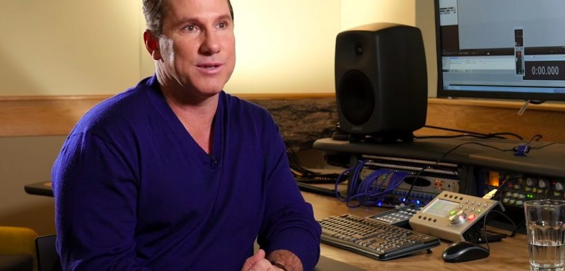 Nicholas Sparks em entrevista ao Audible. (Foto do YouTube)