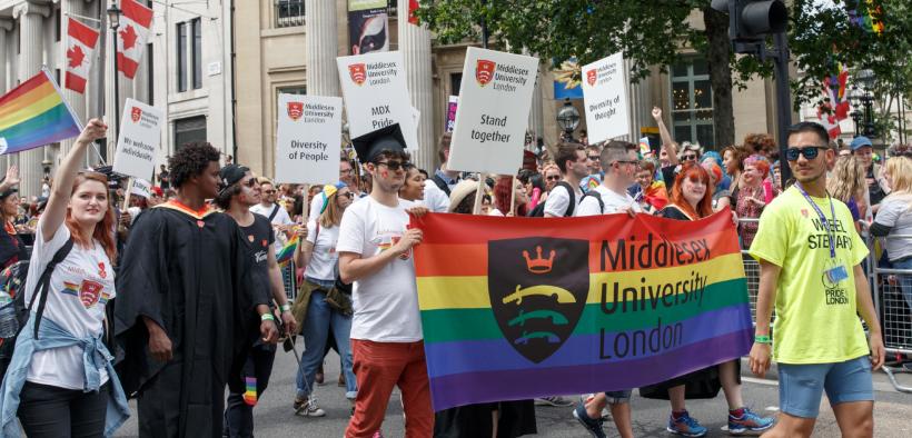 Pride Parade in London (Courtesy of Pixabay)