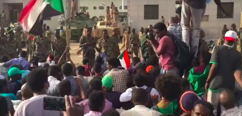 Security forces moved in against Sudanese protesters who've been demanding an end to military rule.