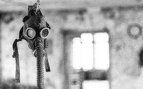 Verlassene Gasmaske in Tschernobyl. (Foto: Pixabay)