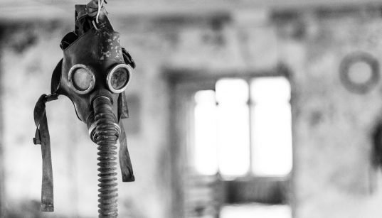 Masque à gaz abandonné à Tchernobyl. (Photo: Pixabay)