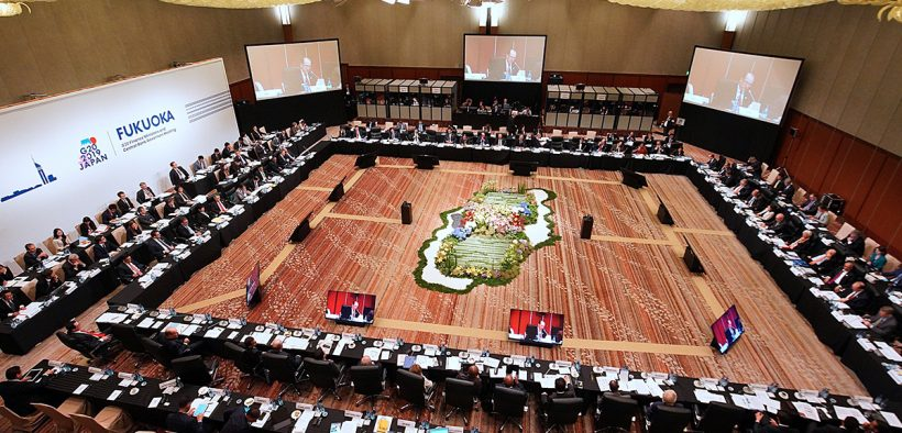 G20 ministros das finanças e reunião dos governadores dos bancos centrais. (Foto: G20 Fukuoka)