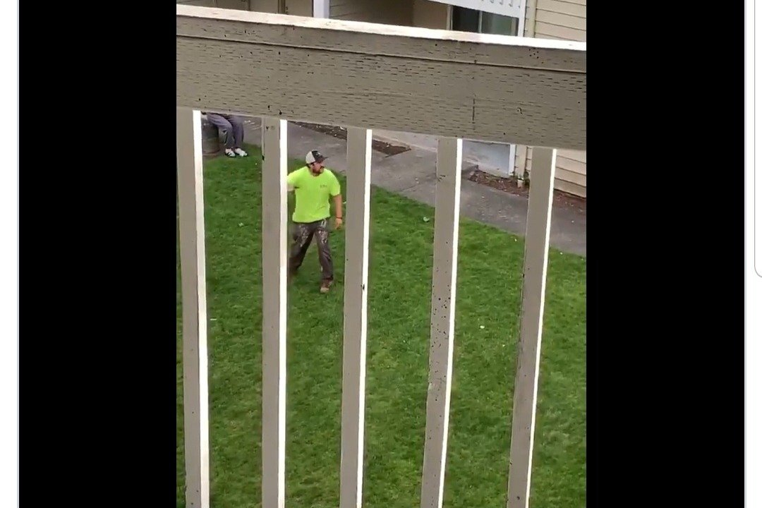 Exclusive: Hero Neighbor, 'Highlighter Man,' Faces Eviction