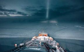 Arktische Eisbrecher
