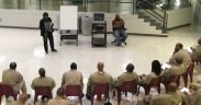 Teaching a class in a US federal prison Date