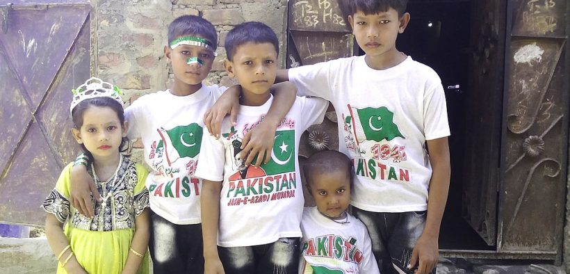 Pakistani children in Hyderabad, Sindh, Pakistan. May 2018. (Photo: Saleemm33)
