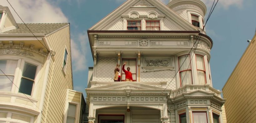 Screenshot from trailer for The Last Black Man in San Francisco