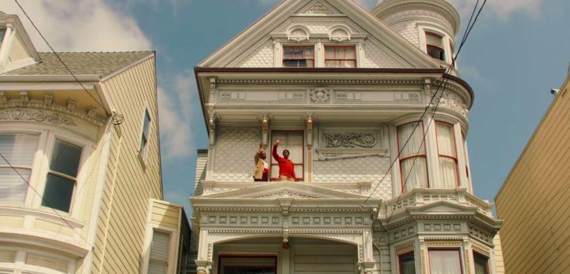 Capture d'écran de la bande-annonce de The Last Black Man à San Francisco
