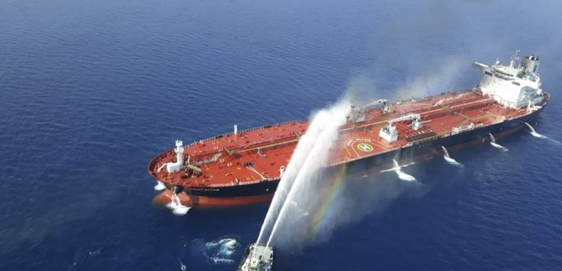 Two Oil Tankers Damaged in Gulf of Oman off the Coast of Iran