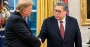 President Donald Trump and Attorney General William Barr. February 2019. (Photo: U.S. DOJ)