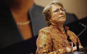Michelle Bachelet, 2013