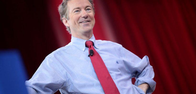 Rand Paul speaking at CPAC 2015 in Washington, DC.