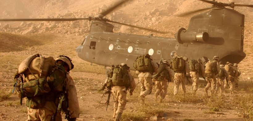 US 10th Mountain Division soldiers in Afghanistan