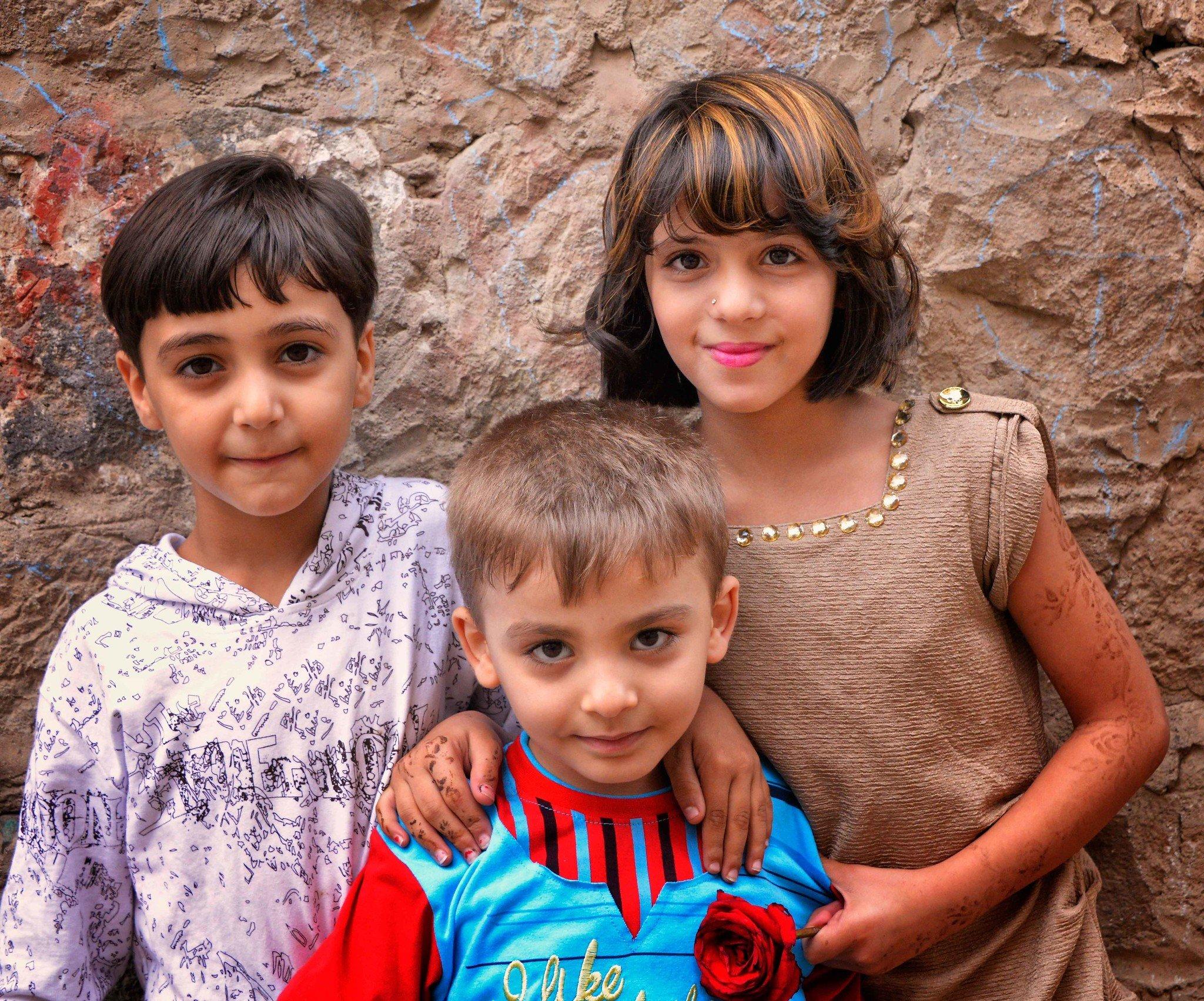 Children in Sana'a