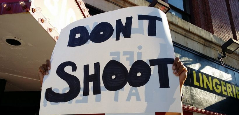 3月为反对警察射击的正义