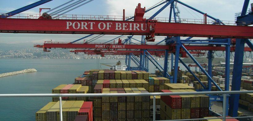 Docks in Beirut, Libanon. 2008. (Foto: Frances Guy)