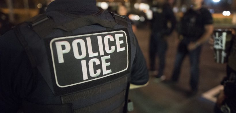 U.S. Immigration and Customs Enforcement (ICE) Officers. (Photo: U.S. ICE)